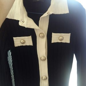 Authentic Balmain cardigan in size small